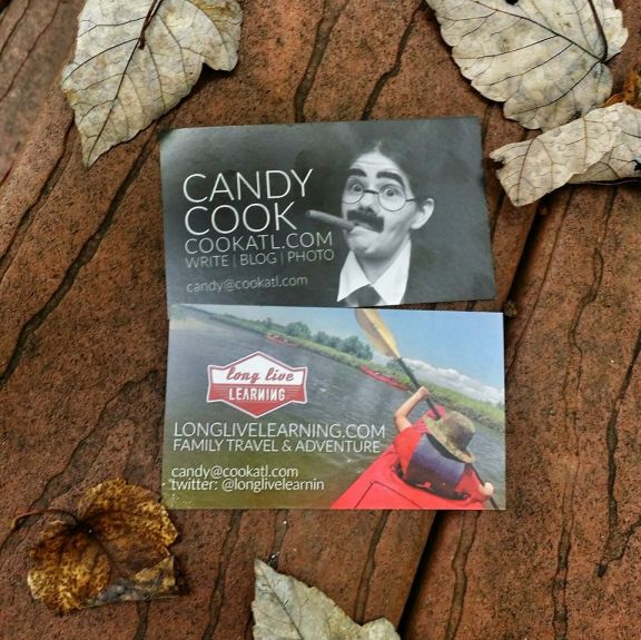 Candy Cook Business Card