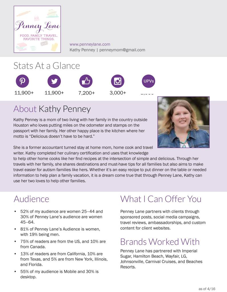 Penny Lane Media Kit