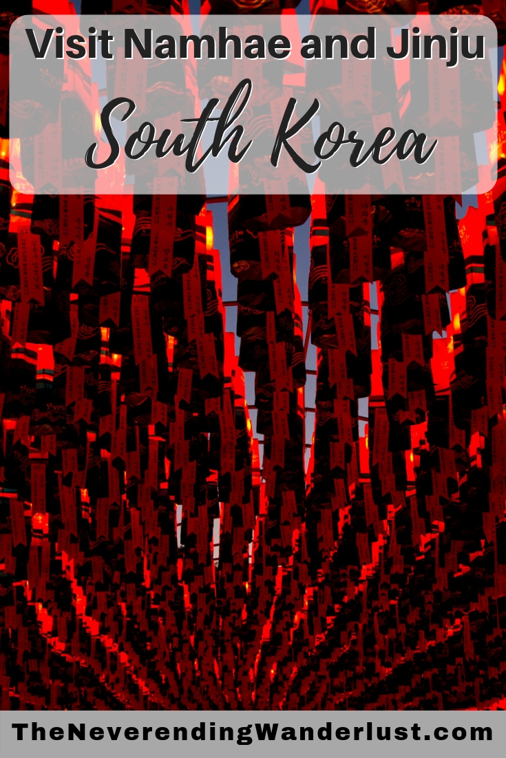 Pin Graphic for Jinju and Namhae South Kore