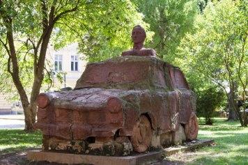 Trabant Monument Sofia, Bulgaria