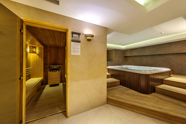 Spa in Plovdiv - Sauna and Jacuzzi