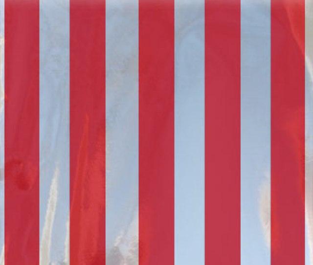 Red Stripe Mylar Bags