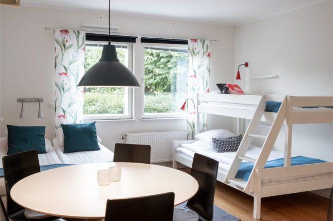 Temporary housing at Ett Smart