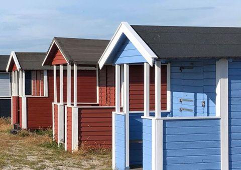 cabins at falsterbo-skanor
