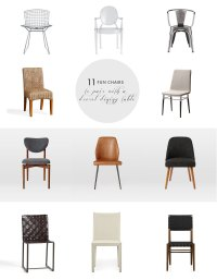 Dressing the Drexel: 11 Fun Chairs for your Dining Table