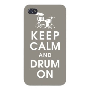 Drummer iPhone Case