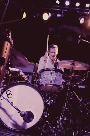 duran ritz drumming live