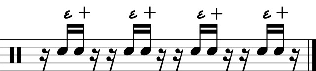 Counting Middle Partial 16th Notes