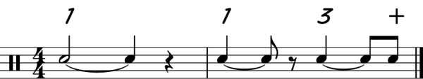 Different Tied Notes
