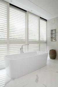 Bathroom Shutters London - Bathroom Window Shutters | TNESC