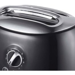 Cool-Touch 2-Slice Retro Toaster with Extra-Wide Slots