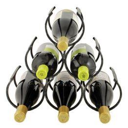 Wine Shrine Metal Bottle Holder