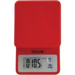11lb-Capacity Compact Kitchen Scale