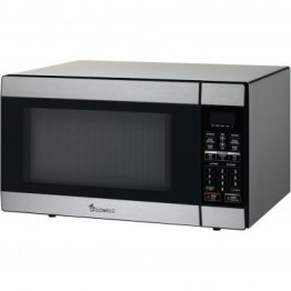1.8 Cubic-ft, 1,100-Watt Stainless Steel Microwave with Digital Touch
