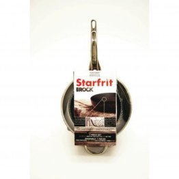 The ROCK™ by Starfrit® 3-Piece Cookware Set with Riveted Cast Stainless Steel Handles
