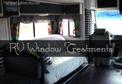 Camper Window Treatments