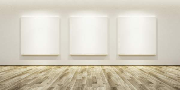 Art Gallery Blank Wall