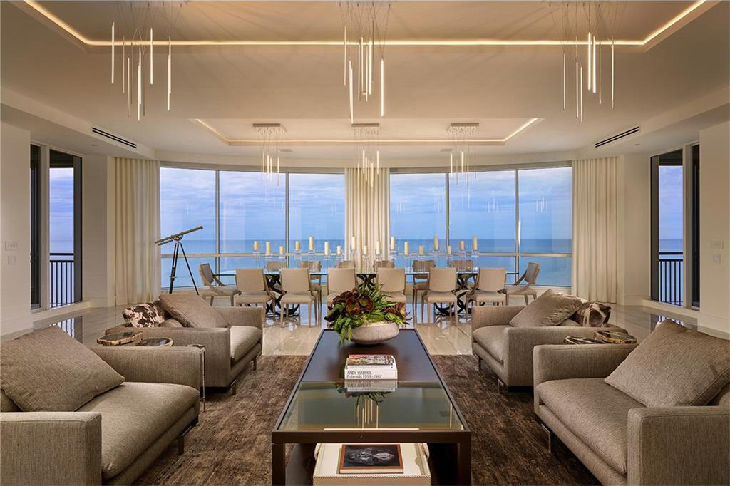 best high end kitchen appliances cabinet design dwell: a tour of the penthouse at seasons naples ...