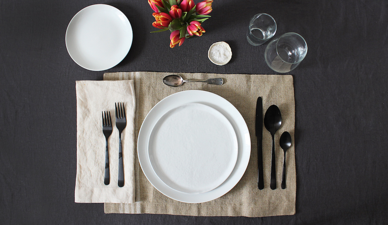 How To Set The Table From Apartment Therapys Maxwell Ryan  The New Potato