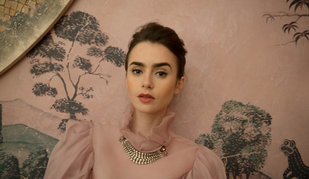 actress lily collins on