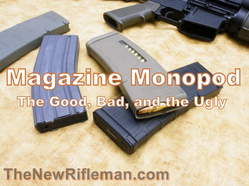 AR15 Magazine Monopod