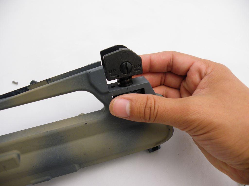 AR15 Rear Sight Installation (11)