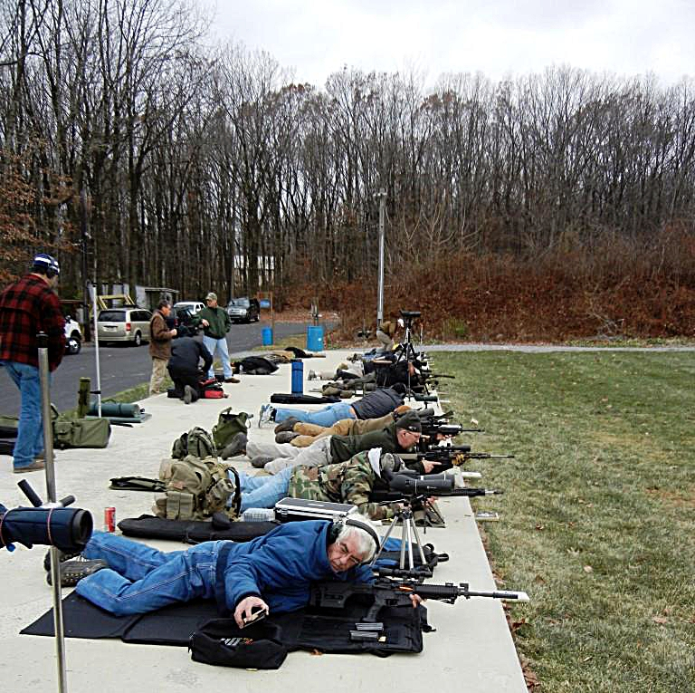 """Competing in NRA High Power """"National Match"""" Shooting With a"""