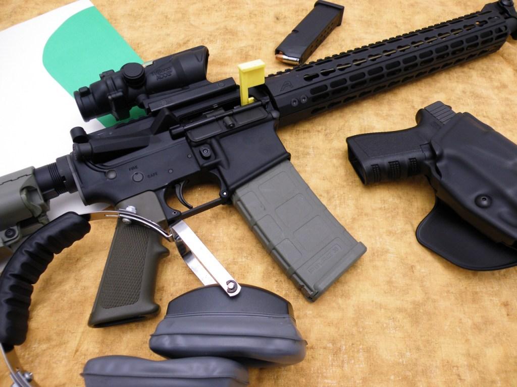 Rifle Ready 3 gun