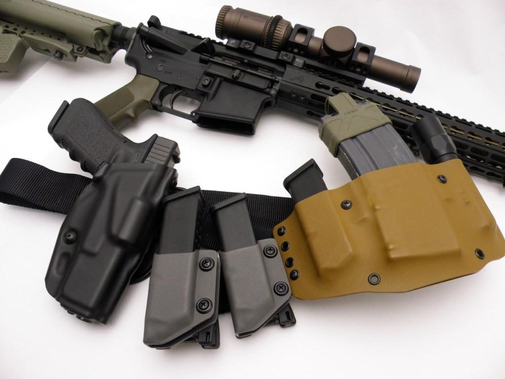 AR15 M4E1 Glock 17