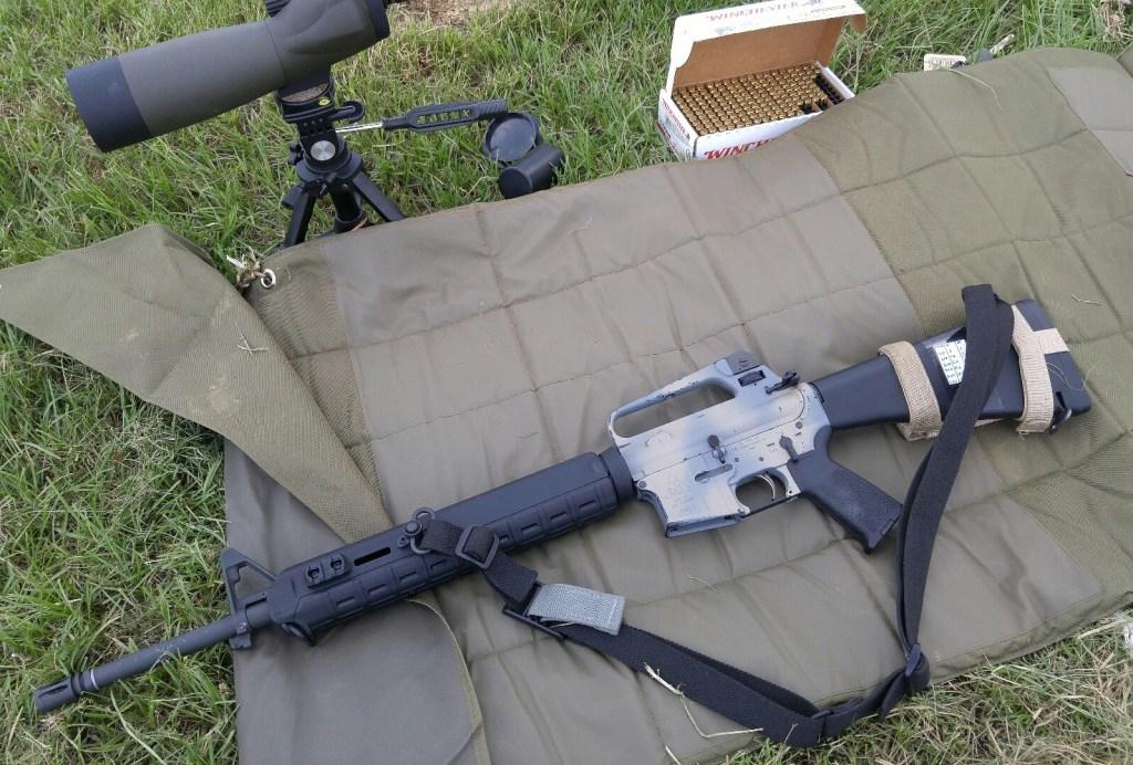 AR15 A2 Rapid Fire