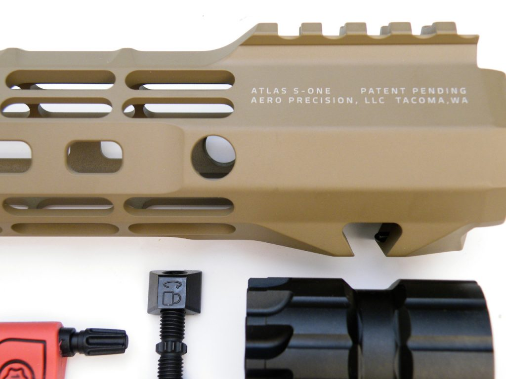 AR15 budget free float Rail Aero Precision