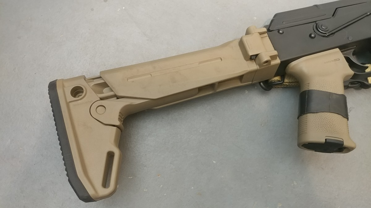 The Magpul Zhukov Folding Stock Review