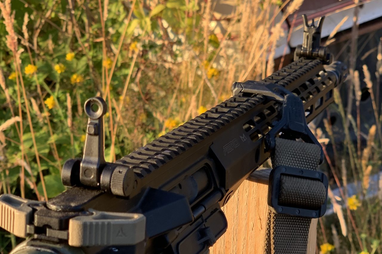 The Midwest Industry low profile sights are a great addition to any rifle