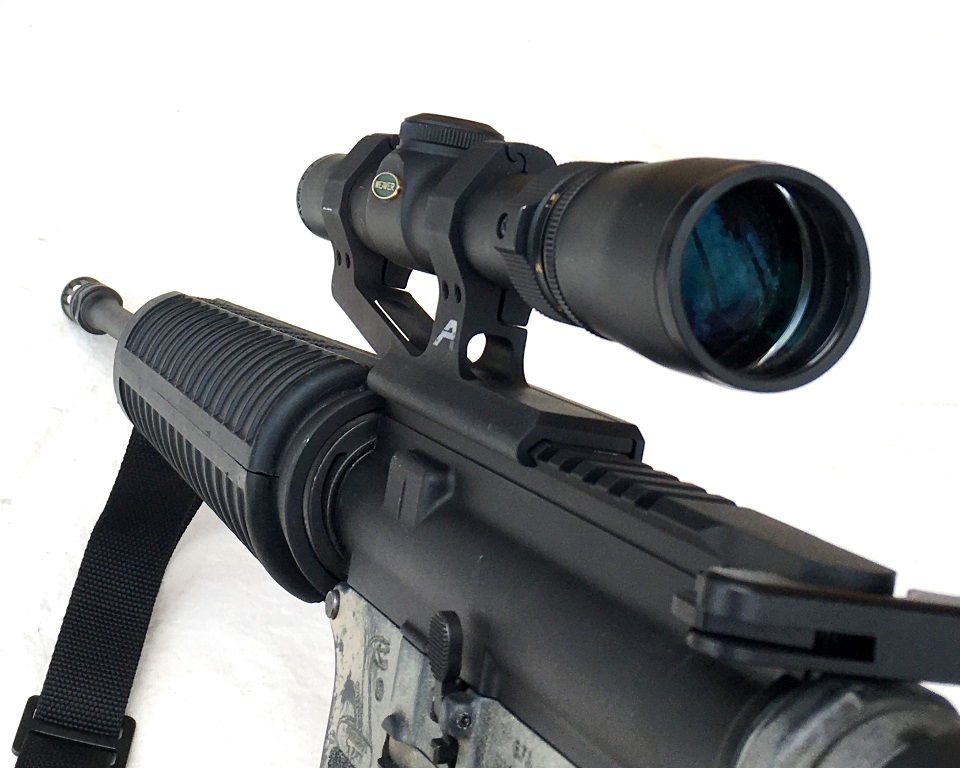 With no front sight base, the view is clear
