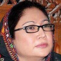 Pakistani female politician Faryal Talpur