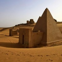 Sudan unearths bones from pyramid for DNA testing; AFP