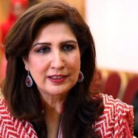 Pakistani female politician Shehla Raza