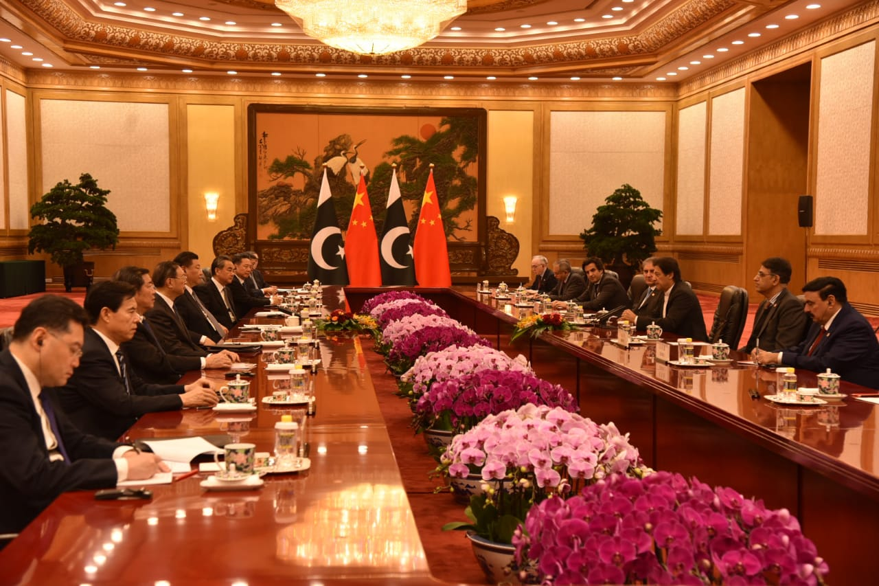 وزیراعظم عمران خان چینی کمپنیوں کے سربراہان سے ملاقاتیں، اعلامیہ جاری