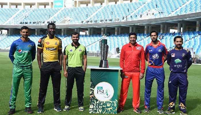 PSL 2019 All Teams Caption