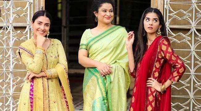 Ayeza Khan shares more adorable photos from Mehar Posh 2
