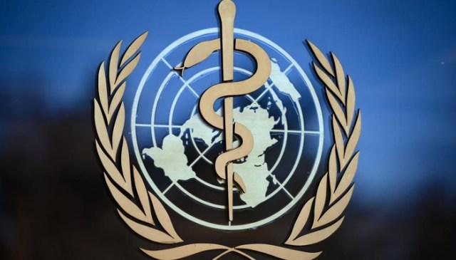 عالمی ادارہ صحت کا لوگو۔  - اے ایف پی / فائل