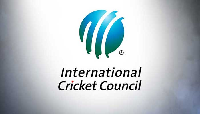 The logo of International Cricket Council (ICC).