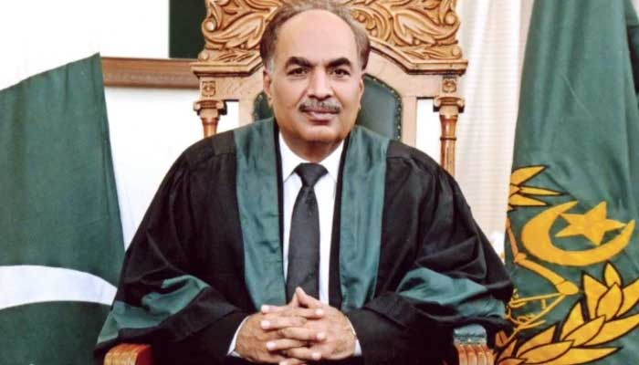 Sindh High Court (SHC) Chief Justice Ahmed Ali Sheikh. File photo
