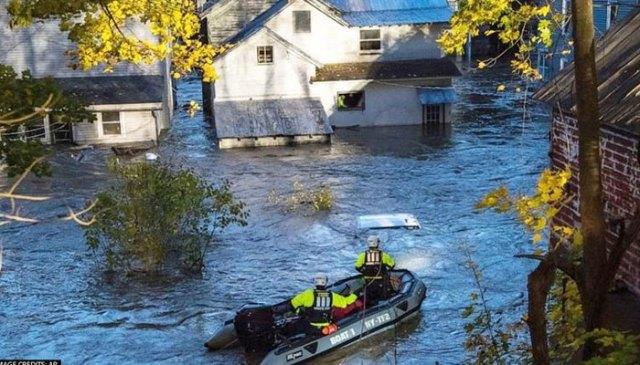 سمندری طوفان ایڈا نے نیویارک میں تباہی مچا دی ، کم از کم 25 افراد ہلاک