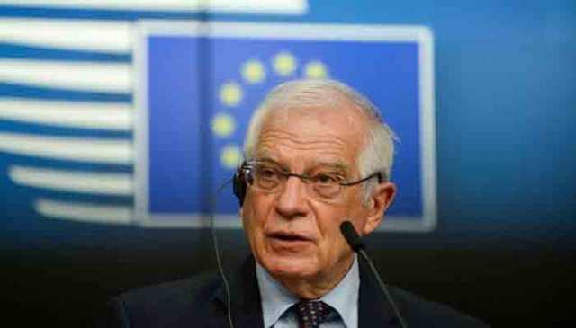 یورپی یونین کی خارجہ پالیسی کے سربراہ جوزپ بوریل۔