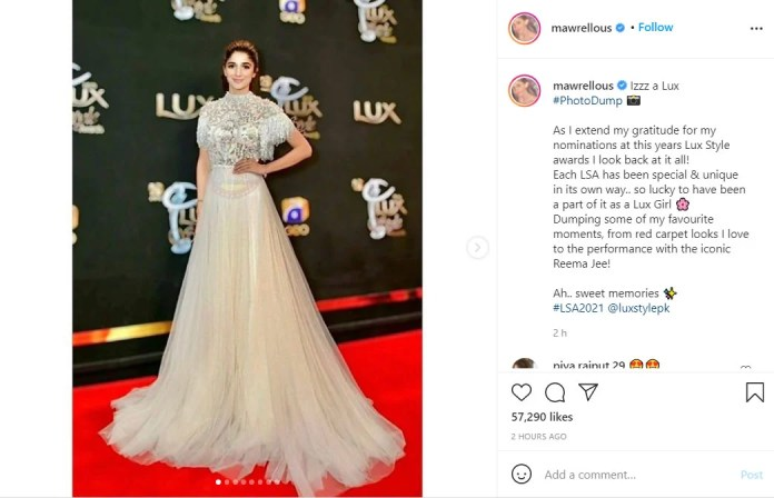 Lux Style Awards: Mawra Hocane gushes over grateful nomination: I look back at it all