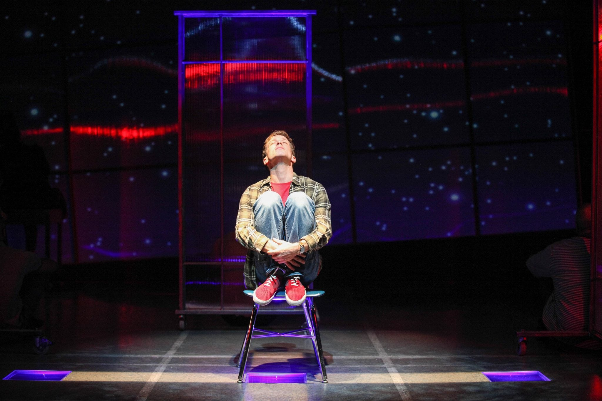Mickey Rowe in The Curious Incident