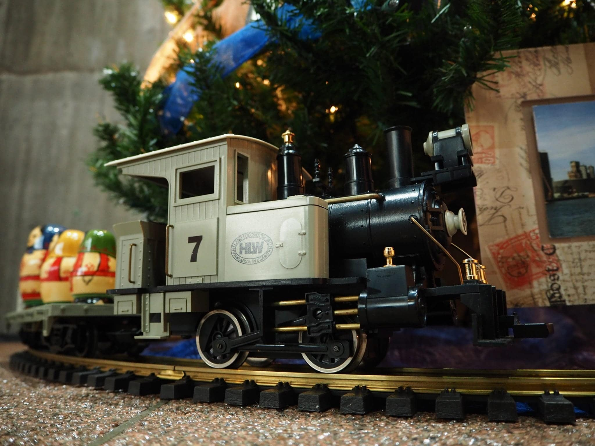Train set at Festival of Trees