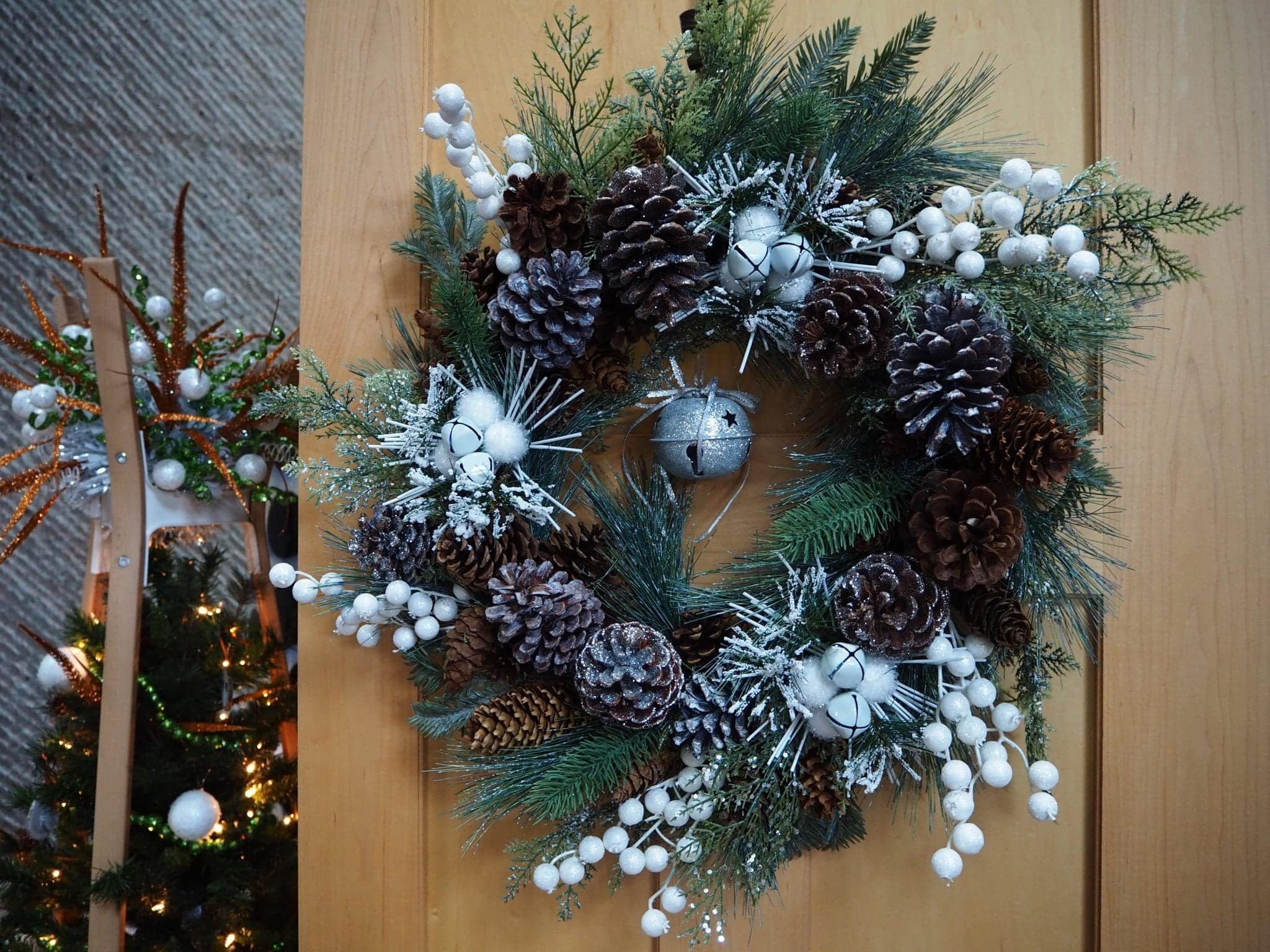 wreath at Festival of Trees