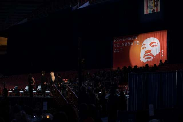 MLK Dinner at Syracuse University